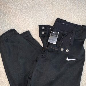 Black nike softball pants